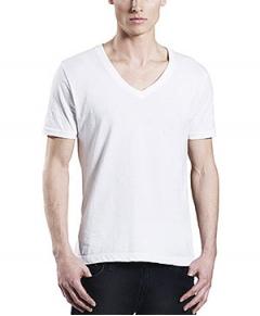 T-shirt Herr Earth Positive V-neck