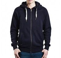 Hood Earth Positive  med dragkedja, Unisex