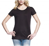 T-shirt Bambu, Open Neck